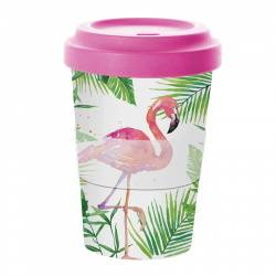 Кружка tropical flamingo бамбук 0,4 л