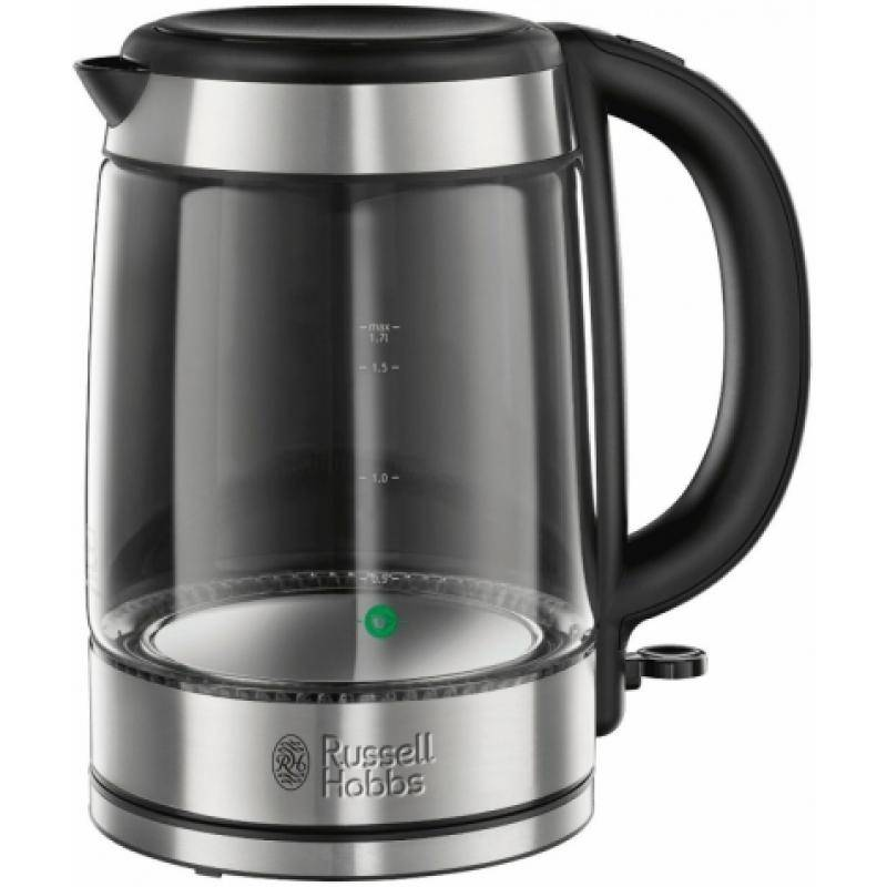 21600-70 Чайник Basic Glass Schott Duran Kettle 1,7л Russell Hobbs